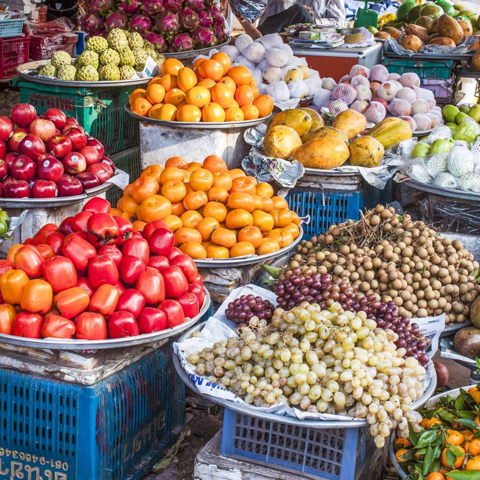 Vietnam-Food-Tour,-Market