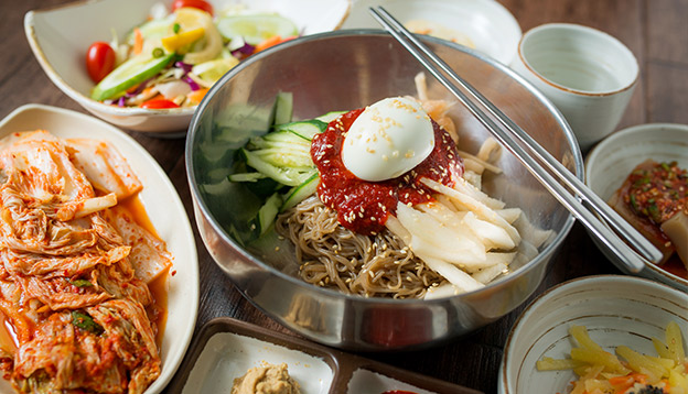 Typical South Korean Dish. Photo Credit: Shutterstock.