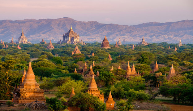 View over pagodas in Myanmar. Photo Credit: Shutterstock