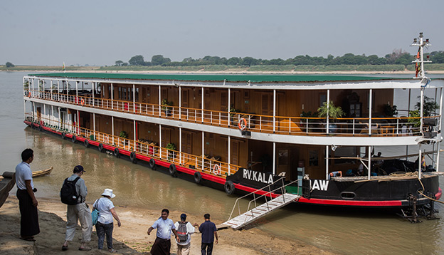Pandaw Cruise Ship. Photo Credit: Luke Ballard
