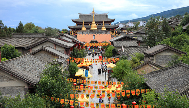 Rebuild Song dynasty town in dali, Yunnan province, China. Photo Credit: Shutterstock