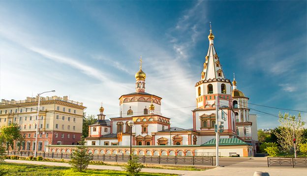 Irkutsk: one of the highlights on a journey on the Trans-Siberian. Photo Credit: Shutterstock