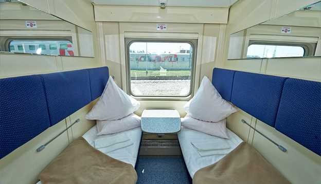 Inside of the Train.
