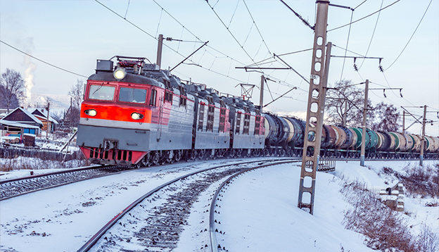 Riding the Trans-Siberian in Winter. Photo Credit: Shutterstock