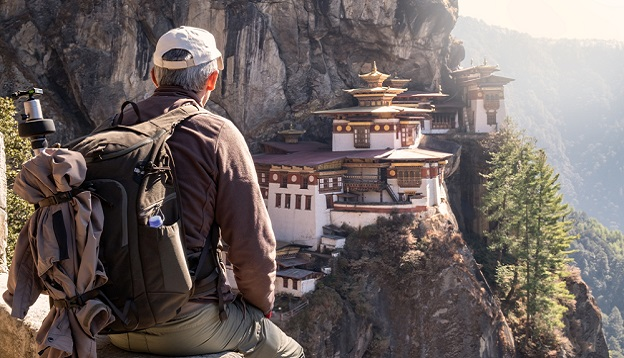 Tiger's nest temple. Photo Credit: Shutterstock