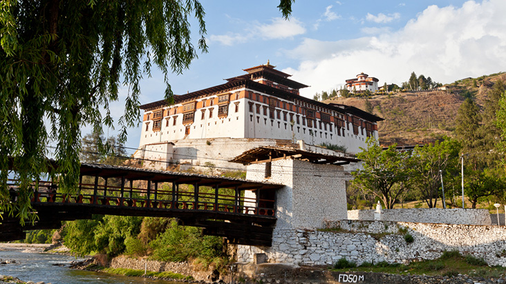 how to get to bhutan from perth